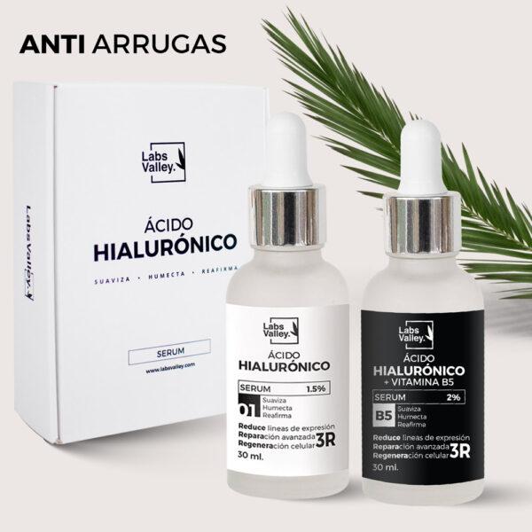 Serum Anti arrugas de ácido hialurónico