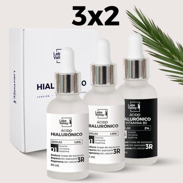 3 ácidos hialurónicos